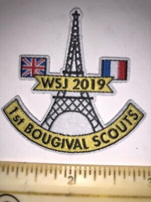 1st Bougival French (BCO) Contingent Badge Patch 2019 24th World Scout Jamboree