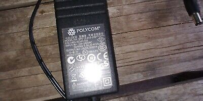 Original Polycom AC Adapter Power Supply Cord IP320 330 450 550 650 Charger