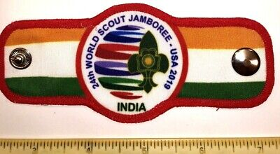 India Contingent Indian Woggle N/C Slide 2019 24th World Boy Scout Jamboree
