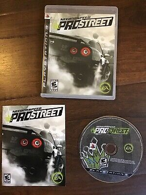 Need for Speed: ProStreet (Sony PlayStation 3, 2007) PS3