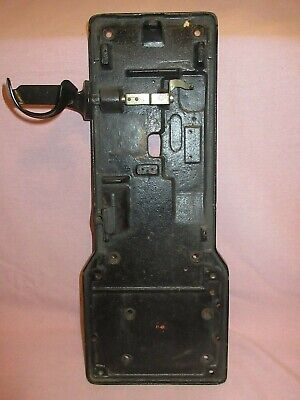 NICE WESTERN ELECTRIC 191G AND OTHERS PAYPHONE BACKBOARD & HOOK telephone phone