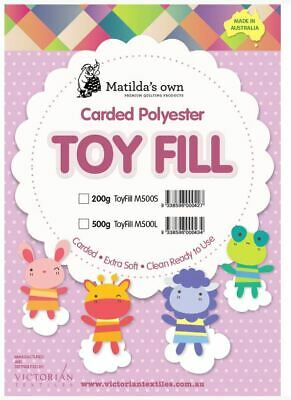 500g Matilda's Own 100% Polyester Toy Fill