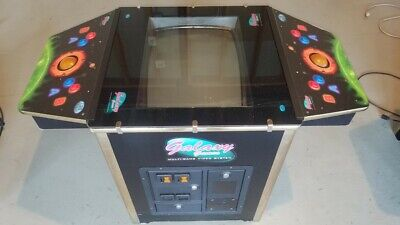 Galaxy Games Multi-game Cocktail Table Arcade Pac-man Ms. Pacman coin-operated 1
