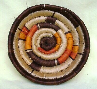 Genuine African Woven Plate Dish