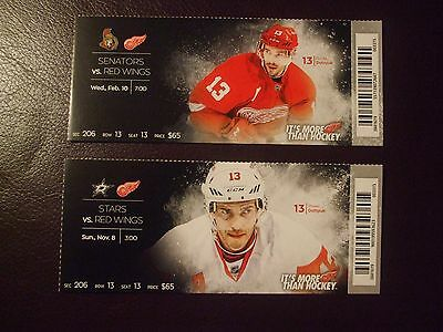 2016 Detroit Red Wings tickets (2) PAVEL DATSYUK VGC L@@K!