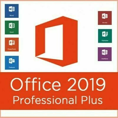 Microsoft Office Professional Plus 2019 License Lifetime Instant Delivery