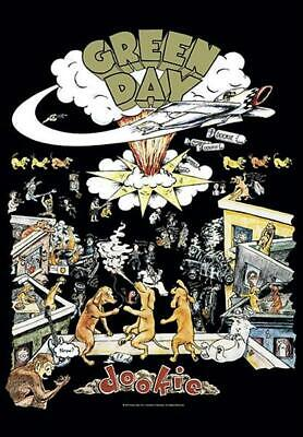 Green Day Flagge / Fahne Dookie Poster Flag Posterflagge