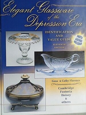 Elegant Glassware of the Depression Era : Identification and Value Guide by Cath