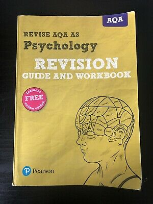 AQA AS Level Psychology Revision Guide