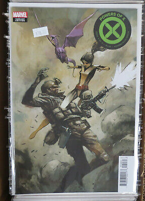 Powers of X #4 Huddleston variant cover Marvel Comics