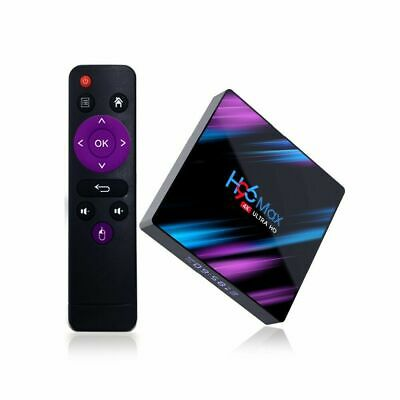 H96 Max Smart Android 9.0 TV Box Quad Core 4K HD 5.8GHz BT4.0 WiFi Media Player