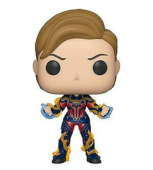 Funko POP! Marvel Endgame Captain Marvel with New Hair - [PRE ORDER] - NEW