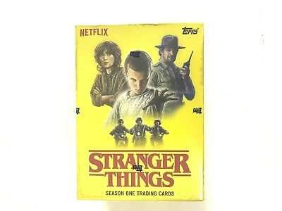 2018 Topps Netflix  Stranger Things Season One Blaster Box ( Patch Card )