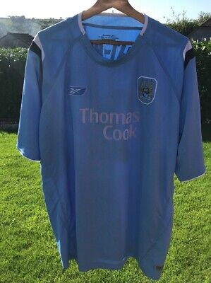 Reebook Thomas Cook MCFC Manchester City Light Blue Colour 2XL Wright Phillips