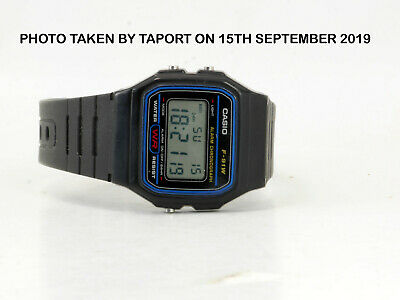 ORIGINAL DIGITAL CASIO F-91W ALARM CHRONOGRAPH CLASSIC RETRO sport  WATCH UK