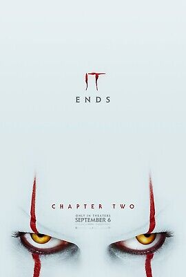 IT Chapter Two 27x40 Original Theater Double Sided Movie Poster Advance