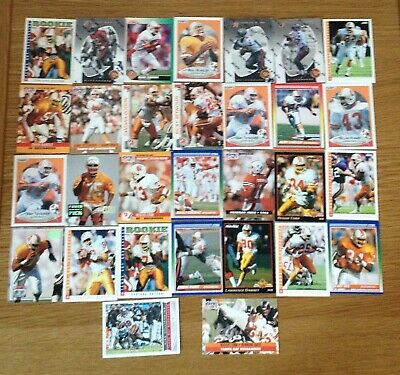 Various Tampa Bay Buccaneers Nfl/American Football Trading Cards