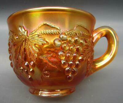 Northwood GRAPE & CABLE Marigold Carnival Glass Punch Cup 7161