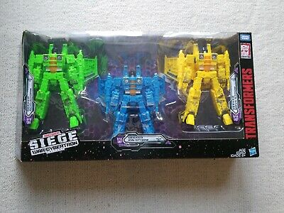 Transformers War for Cybertron Siege Rainmakers Voyager 3 Pack Target Exclusive