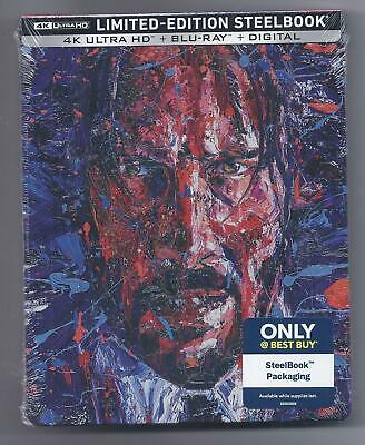 John Wick Chapter 3 Parabellum 4K ULTRA HD + Blu-ray - STEELBOOK