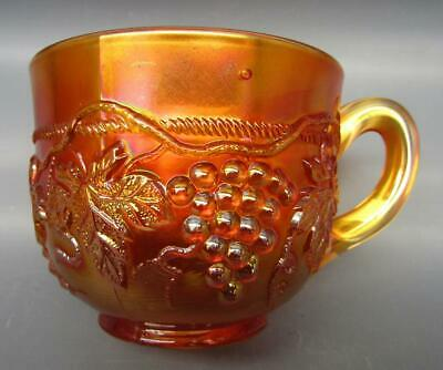 Northwood GRAPE & CABLE Marigold Carnival Glass Punch Cup 7164