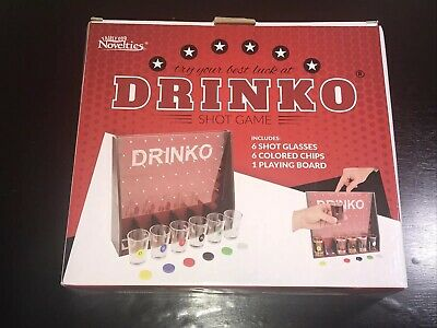 DRINKO NOVELTY DRINKING GAME Hilarious Funny Crazy Social Party Game