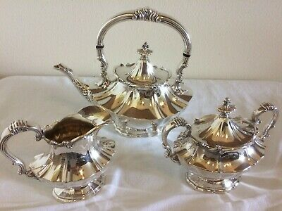 Reed and Barton silverplate tea set (Victorian 6700)