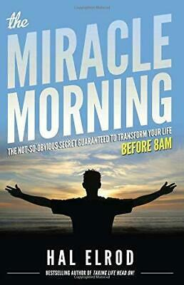 The Miracle Morning by Hal Elrod  (Ε-ΒOOΚ){PĎḞ}⚡Fast Delivery(10s)⚡