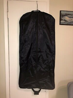 Garment Bag Hanging Suit Cover For Travel & Storage Dust Proof Carry On Foldable