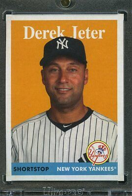2019 Topps Archives Baseball 1/1 Blank Back. Derek Jeter YANKEES