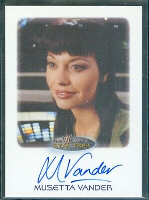 Star Trek Women of  Musetta Vanders as Derraan Tahl Autograph Card