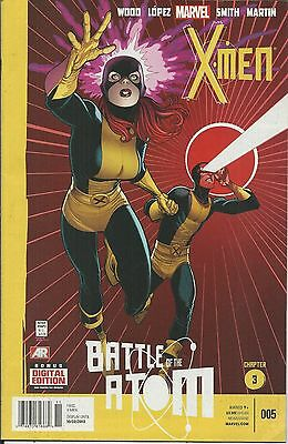 X-Men Comic 5 Cover A First Print 2013 Brian Wood Lopez Smith Martin Marvel