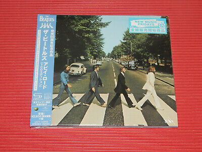 2019 The Beatles Abbey Road Anniversary Edition Japan Only Shm Digi Sleeve Cd