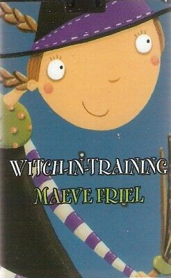 Maeve Friel - Witch-in-Training (Playaway MP3 A/Book 2008) FREE UK P&P