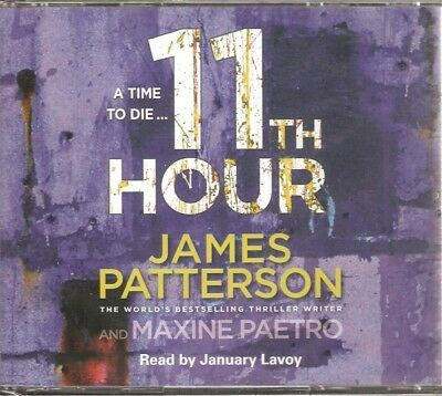 James Patterson - 11th Hour (4 CD A/Book 2014) Lindsay Boxer **NEW/SEALED**