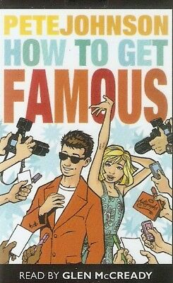 Pete Johnson - How to Get Famous (Playaway MP3 A/Book 2010) FREE UK P&P