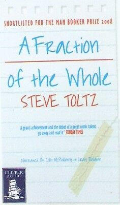 Steve Toltz - A Fraction of the Whole (Playaway MP3 A/Book 2008) FREE UK P&P
