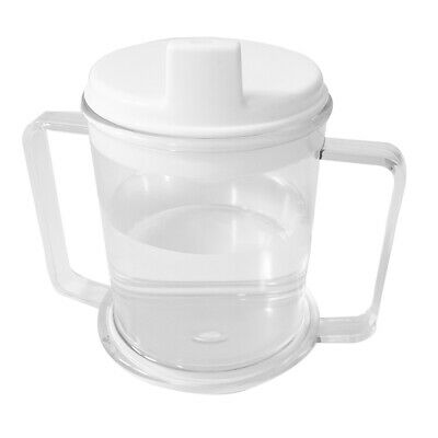 Drinking Aid Mobility Disability Elderly Parkinsons Non Spill Mug Cups AU LU7
