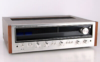 Pioneer SX 636 SX-636 Stereo Receiver Tuner Amplifier UKW MW Alufront silber
