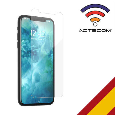 ACTECOM@ PROTECTOR DE PANTALLA PARA IPHONE 11 CRISTAL TEMPLADO glass tempered