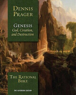 The Rational Bible: Genesis by Dennis Prager HARDCOVER 2019, Brand New