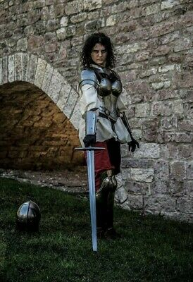 Medieval/Fantasy Greaves for her/him - Made by Fabri Armorum