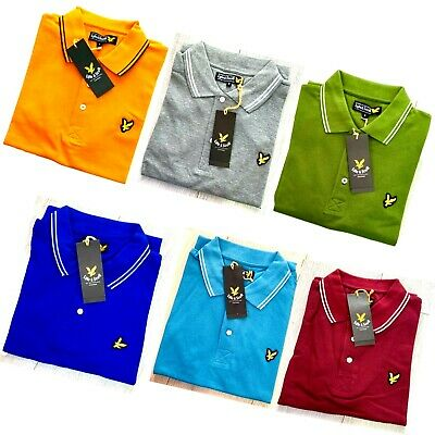 Lyle And Scott Short Sleeve Men's Polo Shirt - All Tipping