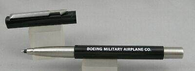 Parker Vector Black Rollerball Pen - Mint - 1985 - Boeing Military Airplane Co
