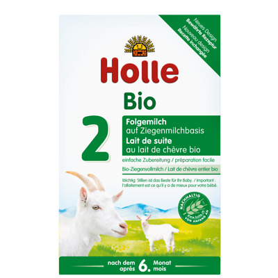 4 boxes - Holle Organic Goat Milk Formula Stage 2 - NEW