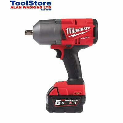 Milwaukee M18FHIWF12-502X Impact Wrench 18v 1/2 Cordless 2 5.0Ah Batteries Case