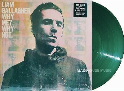 LIAM GALLAGHER LP Why Me? Why Not GREEN Vinyl Limited Edn NEW Sealed IN STOCK !