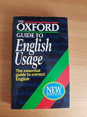 The Oxford Dictionary and English Usage Guide by Maurice Waite, etc. (Hardback,…