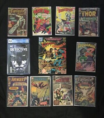 Spectacular Key Comic Grab Bag! One Book Guaranteed From Each Photo (5 Books)