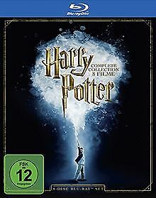 Harry Potter - The Complete Collection [Blu-ray] | DVD | condition good